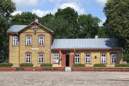 Anykščiai narrow-gauge railway station, 04.08.2013.