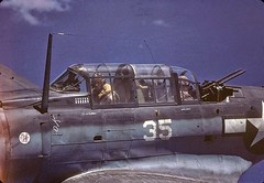 #Close-up, in-flight view of a Douglas SBD Dauntless (#35) piloted by American Lt. George Glacken (left) with his gunner Leo Boulanger, near New Guinea, early April, 1944 [1600X1105] #history #retro #vintage #dh #HistoryPorn http://ift.tt/2gHDmKz (Histolines) Tags: histolines history timeline retro vinatage closeup inflight view douglas sbd dauntless 35 piloted by american lt george glacken left with his gunner leo boulanger near new guinea early april 1944 1600x1105 vintage dh historyporn httpifttt2ghdmkz