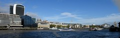 River Thames (gillybooze) Tags: allrightsreserved london river thames architecture towerbridge building weather sky panarama boats clouds water