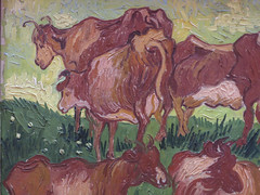 "Van Gogh ""Cows"" after Jordaens (Martin Beek) Tags: vangogh modern cows artist lille"