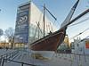 2016.12.01.031 PARIS - IMA - Boutre d'Oman (alainmichot93 (Bonjour à tous et Bonne année)) Tags: 2016 france îledefrance seine paris ima institutdumondearabe bateau boutre oman uae architecture