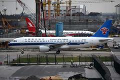China Southern Airlines B-6623 (Howard_Pulling) Tags: shanghai pudong airport pvg china chinese aircraft howardpulling