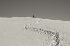 Bide (Fermin Pagola) Tags: chipetaalto pirineos huesca huella nieve