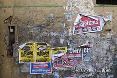Kandy wall compositions (10b travelling / Carsten ten Brink) Tags: 10btravelling 2015 asia asie asien carstentenbrink ceylon iptcbasic jaffna kandy lankan southasia srilanka srilankan graffiti hills north northern tenbrink wall