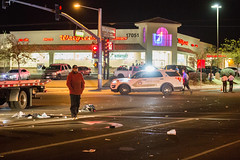 Pedestrian hit i by car in victorville-2 (gabrieldespinoza) Tags: car accident victorville hesperia pedestrian news vvng victorvalleynews