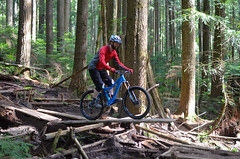 First Ride on Chilcotin (jason fuller) Tags: ladies north shore only fromme chilcotin knolly