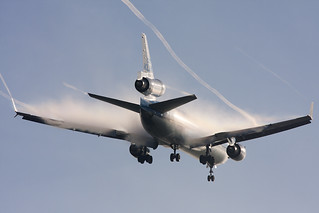 KLM MD-11 with Lots of condensation by Tim de Groot - AirTeamImages