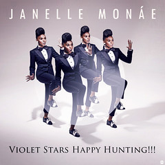 Janelle Mone  Violet Stars Happy Hunting!!! (Dot  Dot  Dot) Tags: stars happy artwork control hunting violet cover single chase metropolis suite cindi janelle droid fanmade mayweather mone