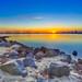 St Kilda Winter Sunset