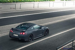 A Matte black Nissan GT-R (Protze | Automotive Photography) Tags: black cars car photography nikon nissan 4 editing mm 105 18 matte supercars gtr lightroom nordschleife nrburgring nrburg d90