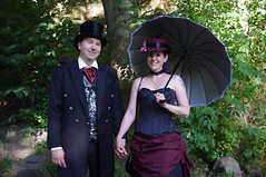 Stockholm Victorian Picnic (liftarn) Tags: picnic stockholm gothic goth victorian steampunk