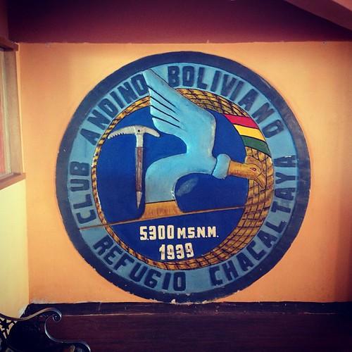 Club Andino Boliviano #lapaz #bolivia #perubolivia2013 #mochilatrip #montañas #chacaltaya