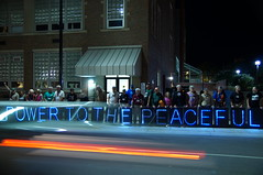 Street Party (Light Brigading) Tags: wisconsin scott peace protest capitol walker madison permit singers veteransforpeace firstamendment nationalconvention olb vetsforpeace solidaritysingalong occupyriverwest overpasslightbrigade arrestedforsinging singingtruthtopower peacetothepowerful