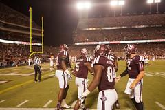 Texas A&M Vs Sam Houston State-1166 (Shutterbug459) Tags: football am university texas sec ncaa collegestation bearcats texasam aggies kylefield samhoustonstateuniversity 20130907