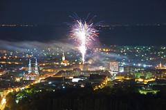 Vrsac (branimir.juga) Tags: 600d canon vrsac vidikovac vrsacki breg vatromet panorama vojvodina banat fireworks night werschetz nocu