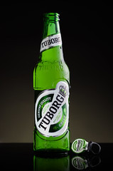 Tuborg [explored] (Ilkka Hakamki) Tags: macro beer photography nikon flash 28 product tamron 90 strobe strobist yongnuo d7000 yn560ii yn560iii
