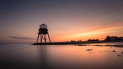 Dovercourt (Scott Baldock) Tags: sunset sea lighthouse seascape canon landscape seaside north essex dovercourt harwich 6d nd106 scottbaldockphotography pwpartlycloudy