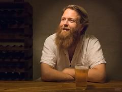 Josh (www.cristianruboni.com) Tags: light portrait man luz beer canon beard high wine cerveza fitzroy australia melbourne iso persone retratos uomo tamron birra ritratti ritratto luce hombre 6d 12800 tamron2874mm