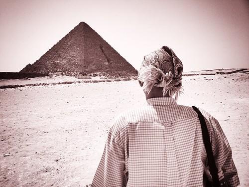 Achraf and the Pyramids