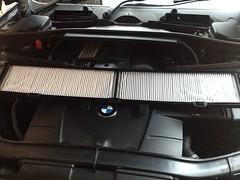 BMW E90: failed service & new pollen filter (VAGDave) Tags: idiot bmw clowns dealer e90