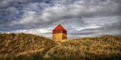 (mokastet) Tags: sky house building grass yellow architecture denmark explore simple hdr mokastet