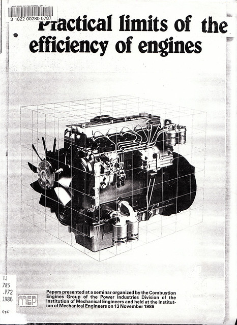 practical limits of the efficiency of engines