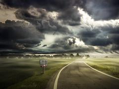 Ti Amer (Il Brigante) Tags: road autumn sky mist love clouds hope poetry strada nuvole journey cielo harmony routes poesia nebbia infinito autunno amore percorsi infinite speranza cammino armonia