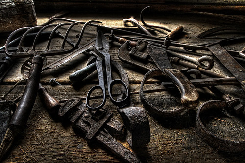 Old Tools by arbyreed, on Flickr