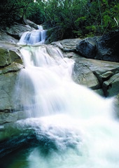 Josephine Falls, Wooroonooran National Park (lucockehp) Tags: landscape waterfall rainforest australia queensland nationalparks josephinefalls wooroonoorannationalpark queenslandparksandwildlifeservice josephinecreek bartlefreretrail thenoongyanbuddangadjonnoongyanbuddanudjunaboriginalp thenoongyanbuddangadjonnoongyanbuddanudjunaboriginalpeople