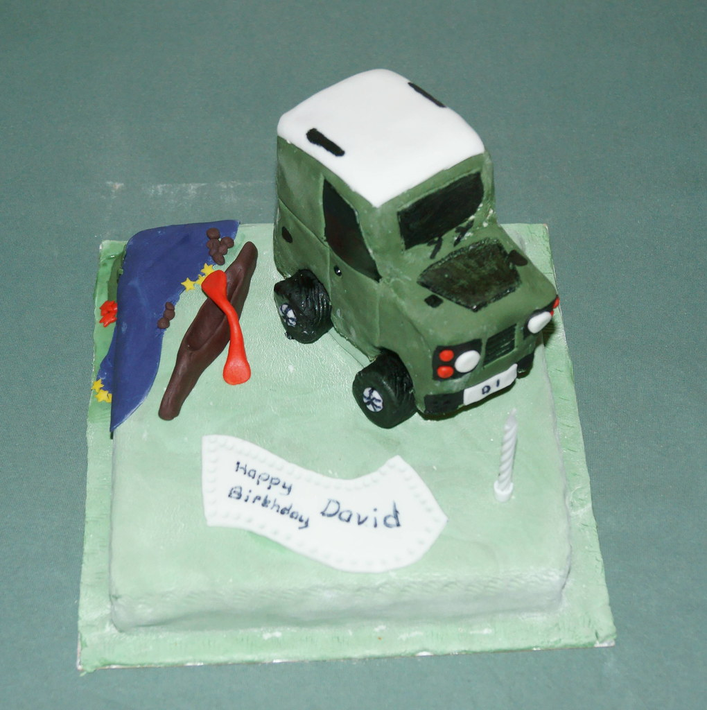 Land Rover birthday cake (Buttercup Cottage) Tags: birthday cake ...