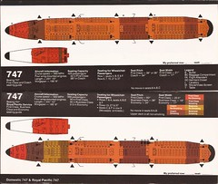 UAseatguideJUL83 09 (By Air, Land and Sea) Tags: ua united airline seat guide aircraft 747 royalpacific unitedairlines airplane seats diagram seatingdiagrams seatingcharts