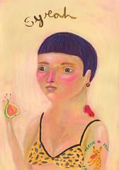 Syrah (jazmin varela ilustracion) Tags: portrait illustration wine retrato retratos illustrator vino ilustracion vinos varela wines jazmin varietales