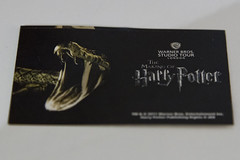 Ticket (Chris_Moody) Tags: film set movie studio tour brothers magic harry potter tourist warner experience hogwarts bros prop attraction rowling