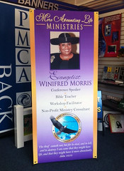 X Banner | Signarama Willow Grove, PA | More Abounding Life Ministries