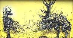 Oh Dear (Burnt Umber) Tags: art wall digital graffiti pentax florida miami tag graf tags basel k5 wynwood 2013 tamronsp24135mmf3556 rpilla001