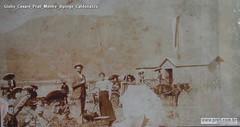 Giulio Cesare Prati Mentre dipinge Caldonazzo