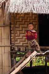 Shan Village (Tuk Tuk Tales) Tags: travel boy people house kids rural children town kid nikon asia southeastasia village child burma bamboo myanmar shan hilltribe shanstate bamboohut hilltribevillage
