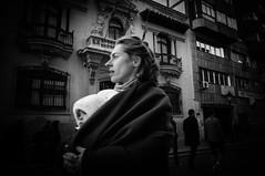 Paseo por la calle ancha (BuRegreg) Tags: street calle spain streetphotography streetphoto rue albacete spania 2014 castillalamancha callejera