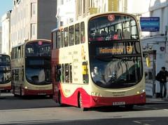 Brighton & Hove 475 (BJ63 UJC) Brighton 19/1/14 (jmupton2000) Tags: bus volvo coach brighton hove south company wright goahead bhd bj63ujc