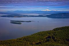 Mount Baker, A Puget Sound Gem (Fort Photo) Tags: ocean nature landscape washington nikon baker pacificocean sound pugetsound orcasisland sanjuanislands moran orcas mtbaker 2014 mtconstitution moranstatepark menefee canadiangulfislands d700 michaelmenefee