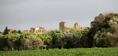 PAISAJE CON PUEBLO - CAMÌ DE MATAJUDAICA TORRENT (beagle34) Tags: paisaje catalunya 129 ullastret paisatge baixempordà canon7d