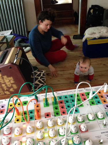 Kid not going to play with synth