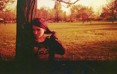 Lessia (Zeronegativo ) Tags: camera portrait film analog soviet kiev 19 ritratto analogica analogic redscale kiev19 scaladirossi