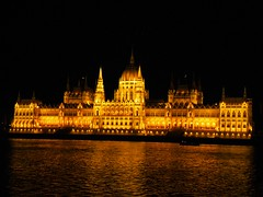 Budapest, Hungary. Just breathtaking. (BRSPhoto) Tags: trip friends summer holiday art heritage love night river lights photo reflex nikon hungary treasure budapest culture parliament best caravan danube masterpiece hungarian traveler modeon