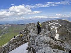 Escursionismo Cantari - Monte Viglio dal valico di S. Antonio