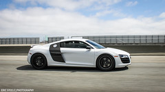 Stormtrooper R8 (ericsteelephoto) Tags: hello life cute beautiful car fun photography pretty rally automotive stormtrooper hi audi ok r8 audir8 carrally automotivephotography rollingshot wantanr8