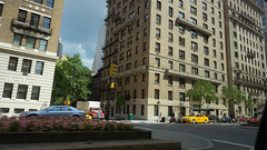 Park Avenue, Summer Morning (Jeffrey) Tags: street city nyc newyorkcity morning travel summer favorite newyork streets building architecture buildings manhattan taxi favorites july 2014 taxiseries