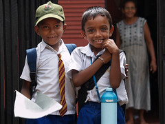 We love School (Photosightfaces) Tags: school boys kids children sri lanka moratuwa schoolday srilankans lankans