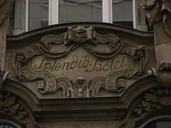 Splendid Hotel detail (Sparky the Neon Cat) Tags: europe germany deutschland berlin mitte dorotheenstrasse splendid hotel building art nouveau neobaroque sculpture