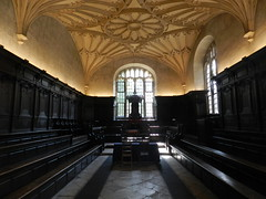 Convocation House, Bodleian Library, Oxford Sep 2016 (allanmaciver) Tags: convocation house oxford england university library bodleian style architecture tour history dark light atmosphere shine allanmaciver